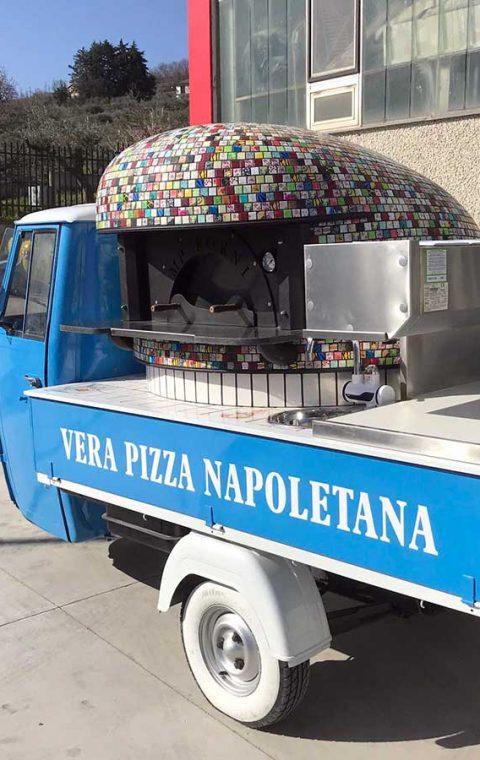 Ape Piaggio Azzurro Napoli