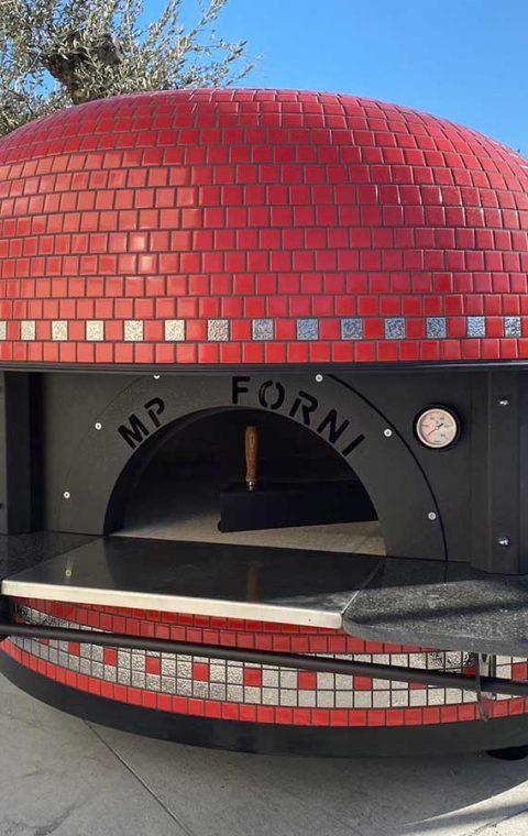 Forno Elegant - Mosaico Rosso